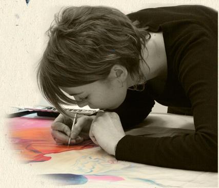 Marion Herbaux - restauration aquarelle